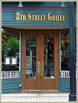 8th Street Grill downtown Holland, Michigan.