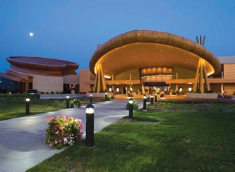 Odawa Casino Resort in Petoskey, Michigan.