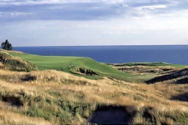 Arcadia Bluffs golf course in Northern Michigan.