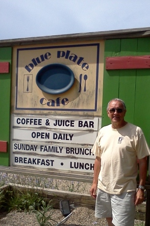 Blue Plate Cafe on Red Arrow Highway Michigan