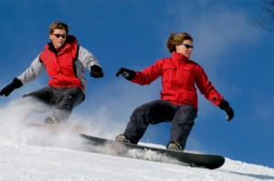 Michigan snowboarding.