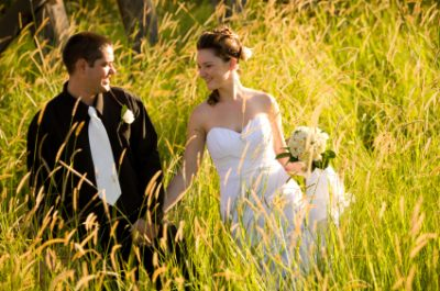 An ECO wedding in Michigan.