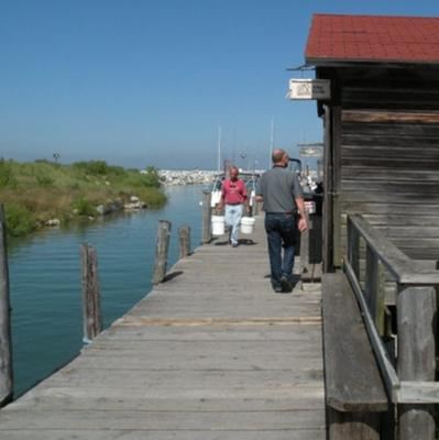 Leland's Fishtown dock