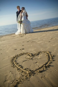 Ludington Michigan wedding