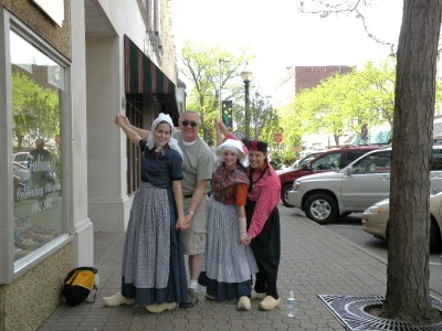 Holland Michigan Tulip Festival fun.