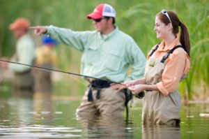 Michigan rivers and streams offer great fishing.