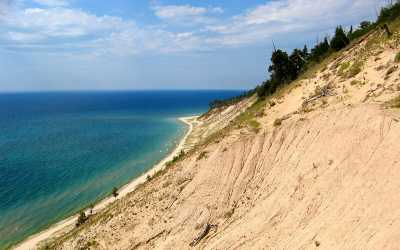 North Manitou dunes, courtesy of Luhrs Jensen.
