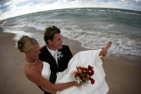 Petoskey, MI wedding