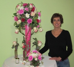 South Haven Michigan wedding florist.