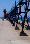 South Haven south pier lighthouse.