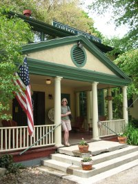 Sue at Gordon Beach Inn home of Timothy's Restaurant Union Pier, Michigan.