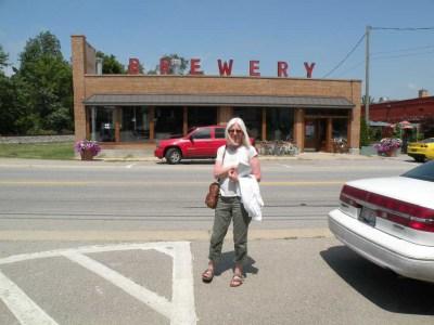 Greenbush Brewery in Sawyer, MI.