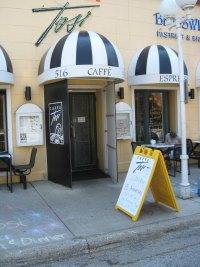 Tosi's Cafe in St. Joseph, Michigan.