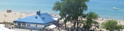 Weko Beach in Bridgeman Michigan.