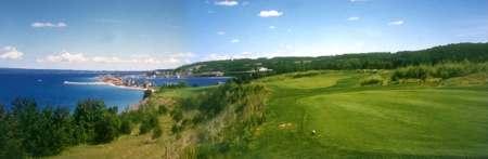 Northern Michigan golf course.