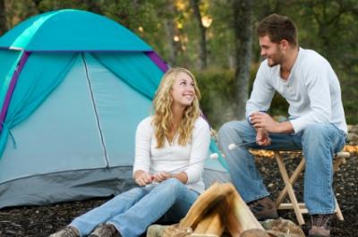 Michigan camping.