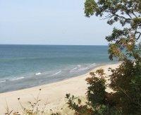 Cherry Beach near Harbert Michigan.