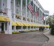 The Grand Hotel, Mackinac Island, Michigan.