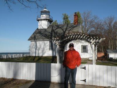 Northern Lake Michigan Lighthouses.