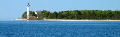 South Manitou Lighthouse courtesy of Luhrs Jensen.