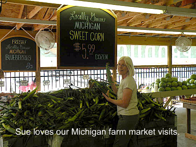 Michigan farm markets.