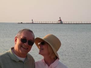 St. Joseph Michigan beach.