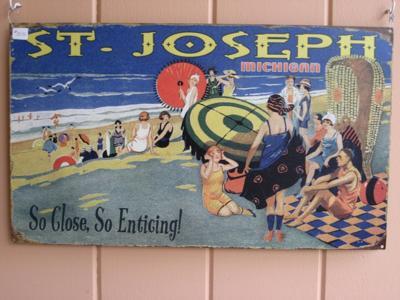 St Joseph Michigan Sign