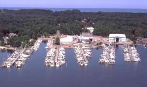 Holland Michigan Marina.